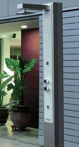 florenz solardusche mit 25 liter alutank und spr hnebeld sen gartendusche schwimmbaddusche. Black Bedroom Furniture Sets. Home Design Ideas